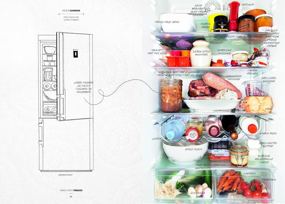 Inside Chefs Fridges